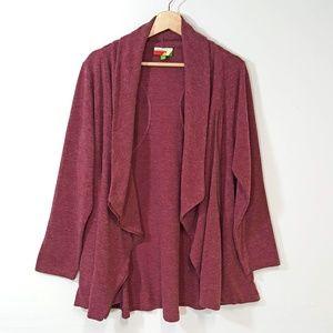Fervour Modcloth Asymmetrical Zip Up Jacket Sz 1x